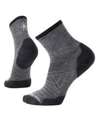 Smartwool PhD Run Cold Weather Mid Crew - Strumpor - Medium Gray (B01368052)