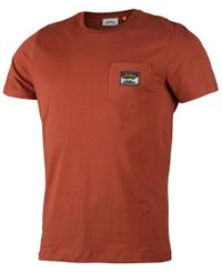 Lundhags Knak Ms - T-shirt - Rust (1119099-310)