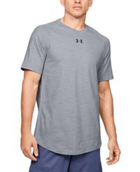 Under Armour Charged Cotton - T-shirt - Mod Gray/ Black (1351570-011)