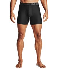 Under Armour Tech 6in 2 Pack - Boxershorts - Svart (1363619-001)