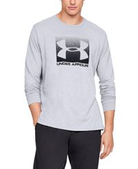 Under Armour Boxed Sportstyle - Tröjor - Steel/ Black (1329586-037)