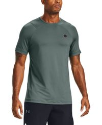 Under Armour Rush HG Fitted - T-shirt - Lichen Blue/ Black (1353450-424)