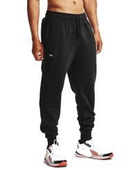 Under Armour Rival Fleece Joggers - Byxor - Svart (1357128-001)