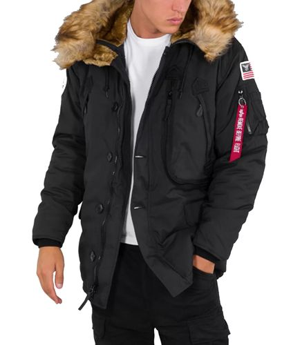 Alpha Industries Polar - Jacka - Svart (123144-03)