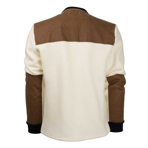 Amundsen Field Fleece Wool - Jacka - Natural (MJA53.2.610)