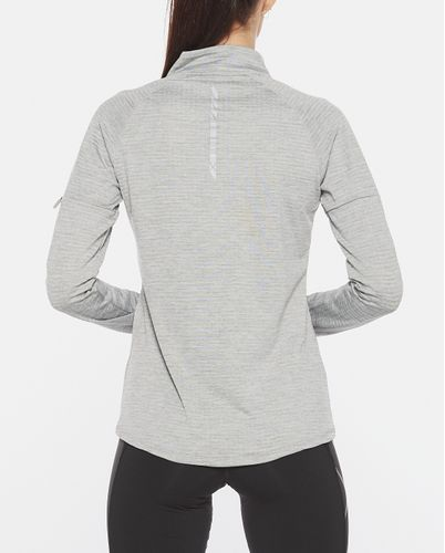 2XU Pursuit Thermal 1/4 Zip Womens - Tröjor - Grey Marle/ Silver Reflective (WR6233a-GR)
