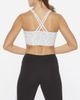 2XU Active Longline MedImpact - Sports-BH - Geo Lines/ White (WR6299a)