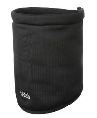 Rab PS neck shield - Hals - Svart (QAA-28-BL)