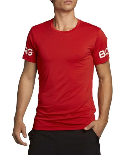 Björn Borg Borg - T-shirt - High Risk Red (2031-1187-40301)