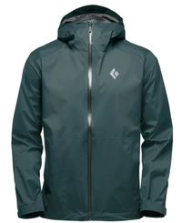 Black Diamond Stormline Stretch Rain Shell - Jacka - Deep Forest (APCDT0-DF)