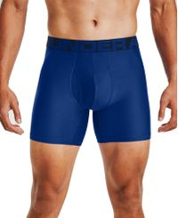 Under Armour Tech 6in 2 Pack - Boxershorts - Royal