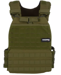 THORN+fit Tactical vekt vest 20lb - Väst - Svart (TRF20149)