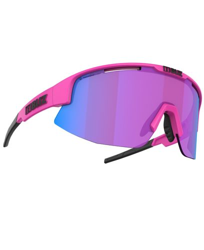 Bliz Matrix Nano Optics Matt Neon Pink (52104-44N)