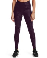 Under Armour Rush Tonal Leg W - Tights - Polaris Purple (1361025-501)