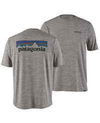 Patagonia M's Cap Cool Daily Graphic - T-shirt - Feather Grey (P45235-PLFE)