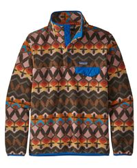 Patagonia W's LW Synch Snap-T - Tröja - Rosa