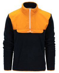 Amundsen Roamer Fleece - Tröja - Golden Pyre/Navy (MSW58.1.311)