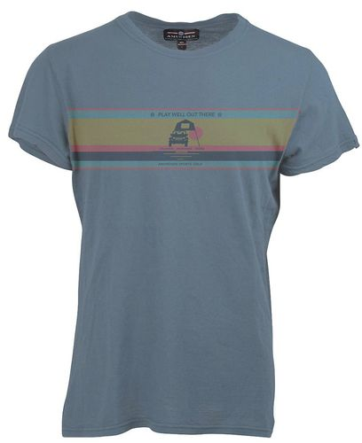 Amundsen Summer Wool Play Well - T-shirt - Faded Blue (MTS56.3.520)
