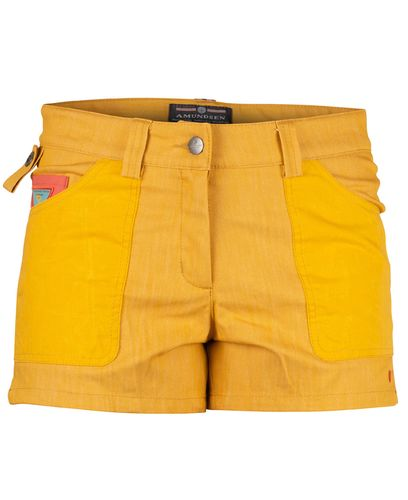 Amundsen 4 Incher Denim Womens - Shorts - Old Yellow (WSS62.1.330)