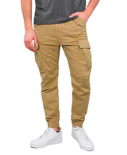 Alpha Industries Airman Ripstop - Byxor - Khaki (128203-13)