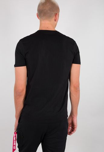 Alpha Industries Alpha T - T-shirt - Svart/Vit (126505-95)