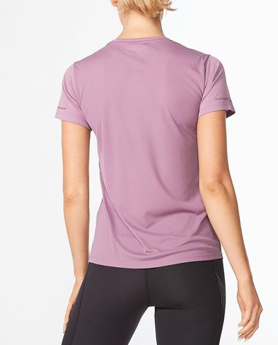 2XU Aero Tee Wmn - T-shirt - Orchid Mist/ Orchid Reflective (WR6565a-OR)