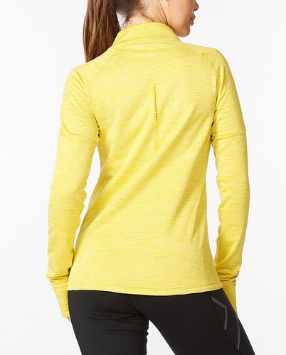 2XU Ignition 1/4 Zip Wmn - Tröjor - Sulpher/ Sulpher Reflective (WR6562a-SU)