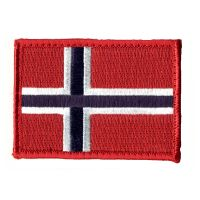 Patch Velcro - Norge - Flagga (NWS-NFL-COL)