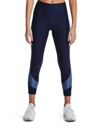 Under Armour HG Armour Taped 7/8 W - Tights - Midnight Navy (1361014-410)