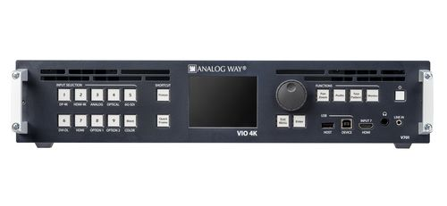 Analog Way VIO 4K multi format video converter and scaler with 4K processing - no option (V701)