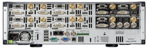 Analog Way - Premium Mult-Layer Seamless Switcher with 8 Scalers, 8 inputs, 2 outputs + Preview/ Mosaic output, NeXtage 08 (NXT0802-4K)