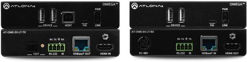 Atlona Omega 4K/UHD HDMI Over HDBaseT TX/RX Lite extender Kit with USB, Control and PoE (AT-OME-EX-KIT-LT)