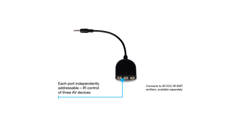 Atlona Velocity Control Converter POE with RS232 Dongle for Velocity Gateway (AT-VCC-RS232-KIT)