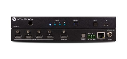 Atlona 4K HDR Four-Input HDMI Switcher with Auto-Switching (AT-JUNO-451)