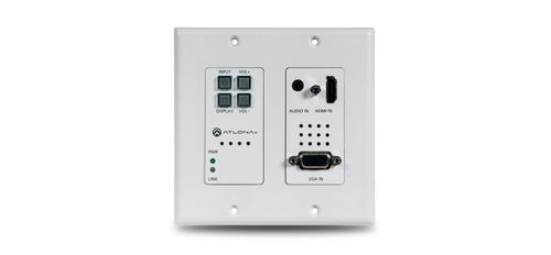 Atlona Two-Input Wall Plate Switcher for HDMI and VGA Sources (AT-HDVS-200-TX-WP)