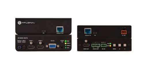 Atlona (KIT) HDBaseT TX/RX with Three-Input Switcher and HD Scaler (AT-HDVS-150-KIT)