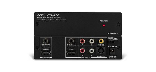 Atlona - HDMI/DVI to Composite and S-Video Down-Converter (AT-HD530-B-stock)