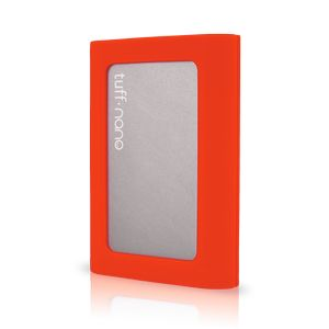 CalDigit TUFF 2000GB - Portable USB 3.1 Drive - Orange Cover (500540)
