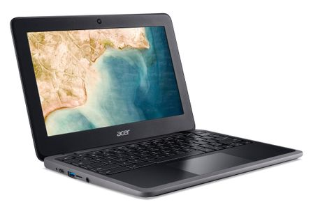 ACER Chromebook C721-211F AMD A4-9120C 11.6inch HD LCD 4GB eMMC 32GB 802.11ac + BT HD Cam Shale Black 11 PC+ABS CHROME PROJECT (P) (NX.HBNED.001)