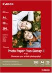 CANON PP-201 plus photo paper inkjet 260g/m2 A4 20 sheets 1-pack (2311B019)
