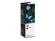 HP Ink/31 Ink Bottle Magenta (1VU27AE)