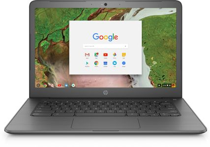HP Chromebook 14 G5 CN3350 14.0inch FHD AG LED UWVA UMA 4GB LPDDR4 32GB eMMC Webcam AC+BT 2C Batt Chrome OS 1YW(ML) (3GJ73EA#UUW)