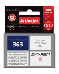 ACTIVEJET TIN ACTIVEJET AH-363LMR Refill für HP No.363 Photo light magenta (EXPACJAHP0063)