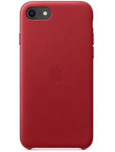 APPLE Leather Case iPhone SE (2020) Rød (MXYL2ZM/A)