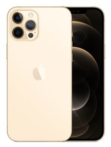 APPLE iPhone 12 Pro Max 256GB Gull Smarttelefon,  6,7'' Super Retina XDR-skjerm,  12+12+12MP kamera, IP68, 5G (MGDE3QN/A)