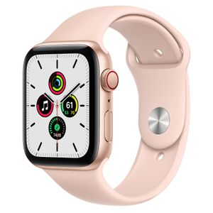 APPLE WATCH SE GPS+CELL 44MM GOLD ALUMCASE WITH PINK SAND S/P IN ACCS (MYEX2KS/A)
