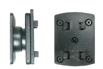 BRODIT Mounting plate w/Richter adapter - qty 1 - Mounting plate w/Richter adapter w/tilt (215058)