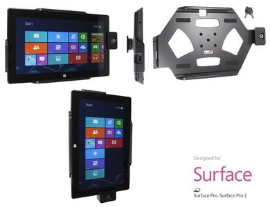 BRODIT Holder with Lock - Microsoft Surface PRO tilt/ Swivel - qty 1 (539491)
