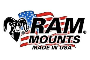 "RAM MOUNT 5/8"" 18"" LONG BLACK CORREGATED TUBING (RAP-TUB-C2-18FU)"