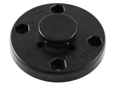 "RAM MOUNT RAM 2-1/2"" DIA. BASE W/ OCTAGON BUTTON (RAP-293U)"